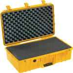 Pelican 1555Air Carry-On Case with Pick-N-Pluck Foam (Yellow)