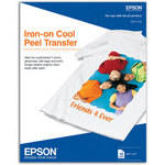 "Epson Iron-On Transfer Paper - 8.5x11"" - 10 Sheets"