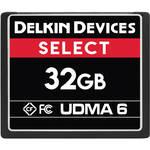 Delkin Devices 32GB SELECT UDMA 6 CompactFlash Memory Card