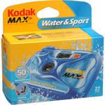 Kodak Kodak Water & Sport Waterproof (50'/15 m) 35mm One-Time-Use Disposable Camera (ISO-800) - 27 Exposures