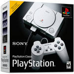 Sony PlayStation Classic Retro Console with 20-Pre-Loaded Games