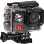 Sunpak 4K Action Camera with 9-Piece Accessory Kit
