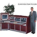 Winsted 4-Bay Wood Corner Console, Model K8696