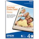 "Epson Premium Glossy Photo Paper - 5x7"" Borderless - 20 Sheets"