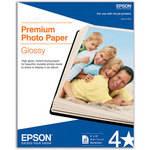 "Epson Premium Glossy Photo Paper - 8x10"" Borderless - 20 Sheets"