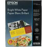 """Epson Premium Bright White Paper  8.5x11"""" - 500 Sheets"""