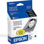 Epson UltraChrome Matte Black Ink Cartridge