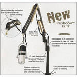 O.C. White ProBoom Elite Microphone Arm System (Black & Gold)