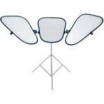 Lastolite Triflector MkII Kit - White/Silver