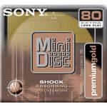 Sony MDW80PL Premium Gold MiniDisc