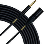 "Mogami Gold 1/4"" TRS Male to XLR Male Balanced Quad Patch Cable (10')"