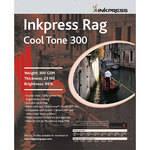 "Inkpress Media Rag Cool Tone 300 Paper (17 x 22"", 20 Sheets)"