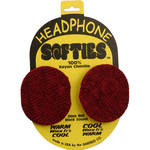 Garfield Headphone Softie Earpad Covers (Red, Pair)