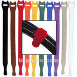 "Rip-Tie Lite 1/2 x 8"" Light-duty Strap (Pack of 10) (Rainbow)"