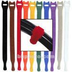 "Rip-Tie Lite 1/2 x 8"" Light-duty Strap (Pack of 10) (Rainbow)"
