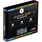 Delkin Devices Inkjet Archival Gold CD-R (10)