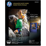 "HP Advanced Glossy Photo Paper 8.5x11"" - 100 Sheets"