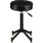 Photogenic Steel Posing Stool with 4 Leg Tubular Base, Cushion