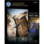 "HP Advanced Inkjet Photo Paper Glossy (L) 8.5x11"" - 25 Sheets"
