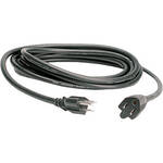 Hosa Technology Black Electrical Extension Cable  - 15'