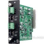 Toa Electronics D-922E - 2 x Mic/Line 20-Bit Input Module (Phoenix)