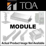"Toa Electronics U-01P - Unbalanced Line Input Module for 900 Series (1/4"" Phone Jack)"