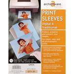 Lineco Polypropylene Sleeve (Clear/Open, A4, 25 Sleeves)