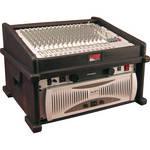 Gator Cases GDJ-8X4 Molded PE Slant Top DJ Console Rack Case