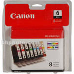Canon BCI-6 Ink Tank 8-Pack