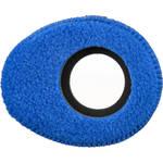 Blue Star Oval Large Fleece Eyecushion (Blue)