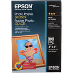 """Epson Glossy Photo Paper  (4 x 6"""") / 100 Sheets"""