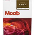 """Moab Entrada Rag Natural 300 Paper for Inkjet (8.5x11"""", Letter, 25 Sheets)"""