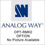 Analog Way OPT-RMK-2 Optional Rack Mount Kit - for V-Scale