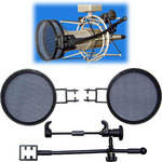"""Popless Voice Screens VAC-PR40 3.5"""" Pop Filter for the HEIL PR40 and PR30 Microphones"""