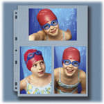 """Lineco Archivalware Photo Storage Page, 4 x 6"""", Holds 6 Prints  (25 Pack)"""