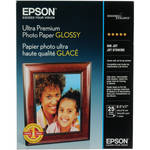 "Epson Ultra Premium Glossy Photo Paper - 8.5x11"" (Letter) - 25 Sheets"