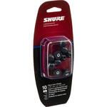 Shure EABKF1-10L Replacement Black Foam Sleeves for SE-Series (Large, 5 Pair)