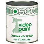 Rosco Chroma Key Paint, Green - 5 Gallons (19 L)