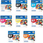 Epson UltraChrome High Gloss 2 Ink Cartridge Kit (8-Cartridges)