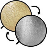 Impact Collapsible Circular Reflector Disc - Gold/Silver - 12""