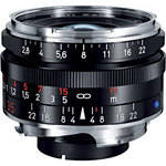 Zeiss Wide Angle 35mm f/2.8 C Biogon T* ZM Manual Focus Lens - Black