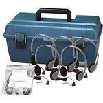 Hamilton Buhl LCP/12/HA2 12-User Headphone Lab Pack