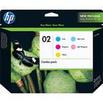 HP HP 02 Inkjet Print Cartridge Color Combo Pack