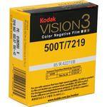 Kodak Vision 3 500T Super 8 Color Negative Film 7219 (50')