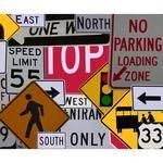Westcott Scenic Background (5x6', Street Signs)