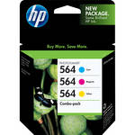 HP 564 Combo-pack Cyan/Magenta/Yellow Ink Cartridges