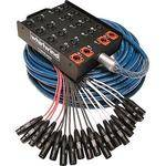 Whirlwind MEDUSA Standard Series 16-Channel Box to Fan Snake with 4 Returns (300') (91.44m)