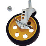 """MultiCart R5CSTR/Y/B 5"""" Caster with Brake for R8 and R10"""