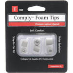 Hearing Components Comply T-100 Foam Tips (Platinum) (Small/Medium/Large-1 Pair of Each Size)
