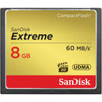 SanDisk 8GB CompactFlash Memory Card Extreme 400x UDMA